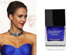 inspired by jessica alba's royal blue and adoring @Laura Davis LONDON's scouse