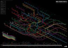 MapCarte 50/365: Web trend map 4 by iA Inc, 2009