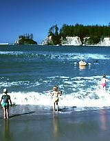 Sunset Bay State Park = Coos Bay, Oregon  Camping, yurts, cabins, teepees, hiking, biking, picnic, beach access, nature programs, wildlife, fishing, boating, swimming