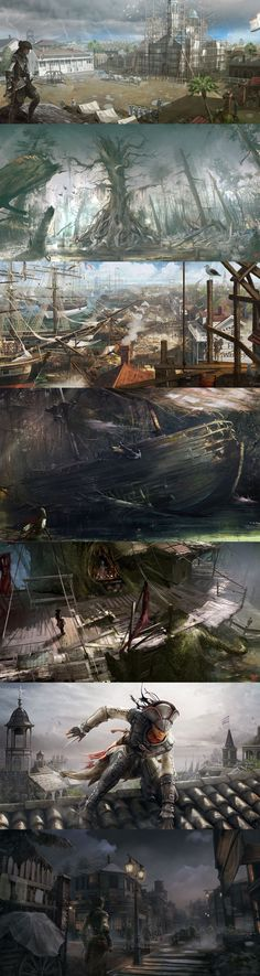 "Concept of ""Assassin's Creed 3: Liberation"", unknown."