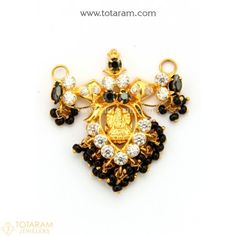 Gold Pendants - View and shop our collection of gold pendants made in India - Indian Gold Jewelry - Buy Online Indian Gold Jewellery Design, Gold Chain Design, Jewellery Designs, Pendant Jewelry, Gold Jewelry, Beaded Jewelry, Gold Necklace, Gold Earrings Designs, Necklace Designs