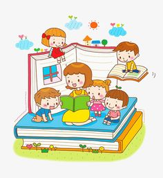 The teacher tells the story to the child PNG and Clipart Kids Cartoon Characters, Cartoon Books, Cartoon Kids, Drawing School, Drawing For Kids, Art For Kids, Wallpaper Iphone Cute, Cute Wallpapers, Church Nursery Decor