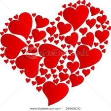 Heart of red hearts