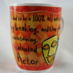 OCCUPATION MUG - ACTOR
