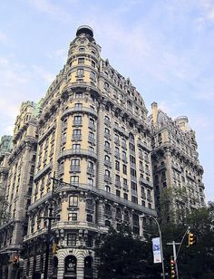 The Ansonia. Upper West Side. Manhattan. NYC.