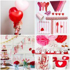 Guirnaldas, globos, brillo y mucho color para decorar tu casa  http://bodasnovias.com/manualidades-para-regalar-a-tu-novio-en-san-valentin/4536/#