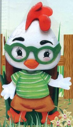 Chicken Little de Goma EVA