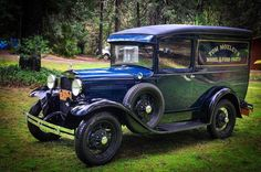 1930 Ford Model A PANEL DELIVERY