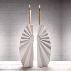 The sun will always shine on you when you're getting married! Remind yourself of that with these Sunburst Candle Sticks.