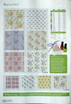 Cross-stitch Small Floral Panels...   Gallery.ru / Фото #33 - CrossStitcher 236 март 2011 - bead