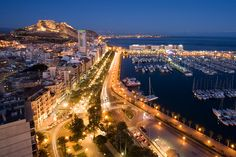 "Alicante. This beautiful city in the popular ""Costa Blanca"" has become a rising destination in #Spain."