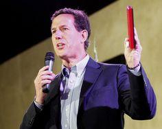 Photo #72 #prezpix #prezpixrs election 2012 candidate:Rick Santorum publication: Los Angeles Times LA Times photographer: Bill Haber AP publication date: 3/21/12
