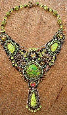 Embroidery jewelry