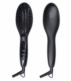 Electric Hair Straightener Brush