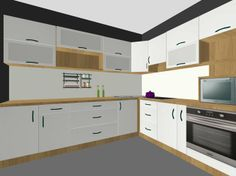 rohova kuchyna #kuchyna #nabytokbetak #nabytok #kuchynasnov #kuchynanamieru #3d #vizualizacia #interierovydizajn