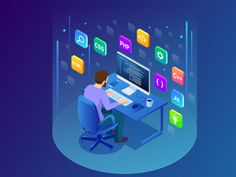 know the the latest technology trends in the IT industry which can beneficial for your buisness . #softwaretrends #softwaredeveloper #customizedsoftwaredeveloper #hiresoftwaredeveloper #hiresoftwareoutsourcingcompanies Different Programming Languages, Coding Languages, Man Sitting, Use Case, Number Two, Online Shopping Sites, Web Application, Software Development, Php
