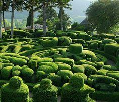 exPress-o: Travel Fantasy: Gardens of Marqueyssac, France