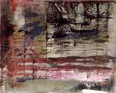 Gerhard Richter. Abstract Painting 1999. 41 cm x 51 cm. Oil on canvas Catalogue Raisonné: 862-3