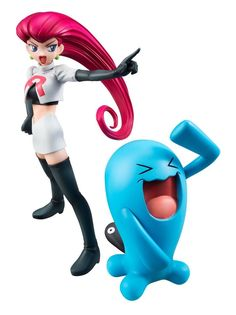 New Pokemon Center Mega House G E M Series Jessie Wobbuffet PVC Japan Figure | eBay