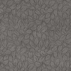Oxford Leaf Grey Contemporary  Microfiber Upholstery Fabric