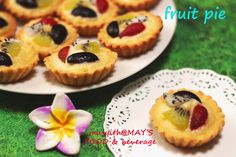 HOME COOKING : RESEP FRUIT PIE a'la Home Cooking by masyith@MAY'S FOOD & beverage • Hobbiesrobby Eat And Go, Fruit Pie, Cheesecake, Beverages, Cooking, Desserts, Food, Meal, Fruit Cobbler