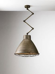 """""""Loft"""" by Il Fanale. Iron and brass indoor suspensions, appliques, table lamps and floor lamps."""