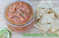 Homemade Salsa Recipe