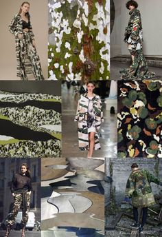 CAMOUFLAGE COLLAGE ss18