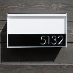 The Dawson Modern Mailbox by boldmfg on Etsy, $425.00 https://www.etsy.com/shop/SalehDesigns?ref=si_shop If you like this check out my shop.