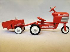 1955 Murray Tractor and Trailor Model Bike - 1998 Hallmark Ornament, KIDDIE CAR CLASSICS