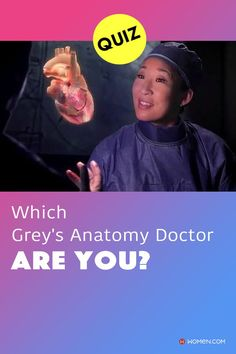 Grey's Anatomy personality quiz: Which Grey's doctor matches with you? Find out which Grey's doctor you are based on your answers. #greys #greysanatomy #greyspersonalityquiz #personalityquiz #greysdoctor #greysanatomycharacter #cristinayang #meredithgrey Grey's Anatomy Doctors, Callie Torres, Arizona Robbins, Derek Shepherd, Cristina Yang, Meredith Grey, Greys Anatomy, Quizzes, How To Find Out