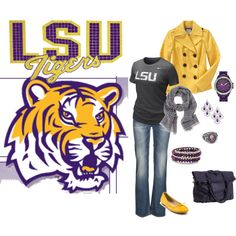 Louisiana State University - Geaux Tigers!!!!!!