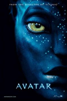 Century Fox has debuted poster for upcoming Avatar film featuring the face of a Na'vi alien (Zoe Saldana? Avatar plot: A wounded ex-marine (Sam See Movie, Movie Tv, Crazy Movie, Movie Theater, Movies Showing, Movies And Tv Shows, Film Mythique, Avatar Poster, Film Science Fiction