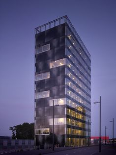 Dutch architects Wiel Arets Architects, have won the 2011 ContractWorld Award for the V Tower in Eindhoven, The Netherlands. Architect's description and