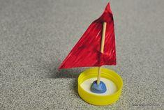 Crafts 4 Camp: Plastic Lid Crafts