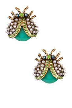 Beetle Stud Earrings by Eye Candy Los Angeles ~ $14.97