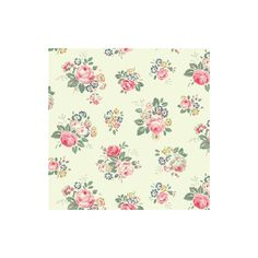 Cath Kidston - Briar Rose Fabric ($24) ❤ liked on Polyvore featuring backgrounds, floral, fillers, wallpaper and flowers