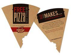 Flippin Pizza by Marie Bushbaum, via Behance