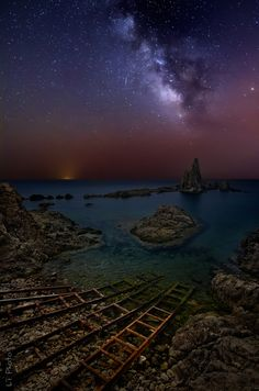 The Reef of Sirens at Night