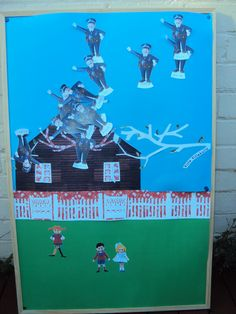 """""""Pin the Policeman on the Roof"""" Pippi Longstocking party game"""