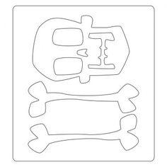 Cutting Edge Crafts > Christmas & Seasonal > Sizzix® Bigz™ Die - Skull & Crossbones by Tim Holtz®