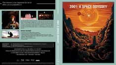 2001 A Space Odyssey Blu-ray Custom Cover 2001 A Space Odyssey, Cover Design, Artwork, Movie Posters, Work Of Art, Film Poster, Book Cover Design, Cover Art, Film Posters
