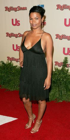 lovable Nia Long ...  Yummy Celebrity...   Long co-directed and appeared in Ashanti's music video, -Baby-