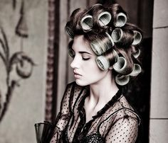 Learn How to Use Hair Rollers at YourBeauty411.com. Where we discuss hair, makeup, fashion and everything else beauty.