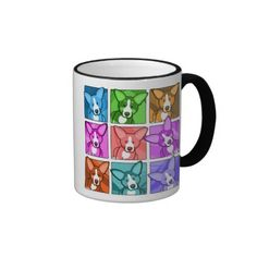 Pop Art Corgi Mug   Click on photo to purchase. Check out all current coupon offers and save! http://www.zazzle.com/coupons?rf=238785193994622463&tc=pin