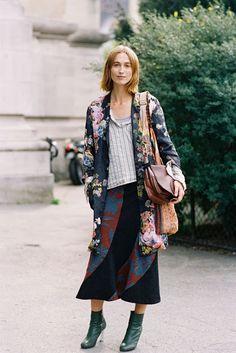 Dutch model Sylvia van der Klooster, Paris, September 2014 | Vanessa Jackman | Paris Fashion Week SS 2015