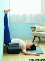 Reduce anxiety and panic attacks with these tension-taming yoga poses.