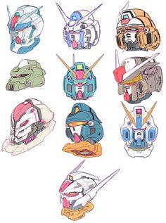 Do you fucking love science fiction? Arte Gundam, Gundam Art, 3d Design, Robot Design, Cyberpunk, Gundam Head, Science Fiction, Japanese Robot, Gundam Wallpapers