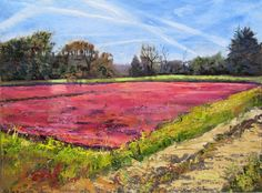 Plucky Cranberry Bog, by Vezina Art