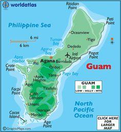 Guam Map / Geography of Guam / Map of Guam - Worldatlas.com ...